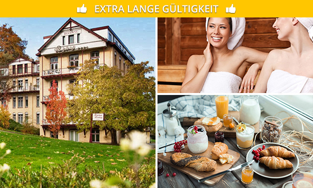 Übernachtung  + Frühstück + Wellness für 2 in Valkenburg