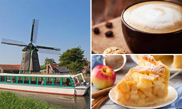 Rondvaart (2 uur) + koffie + lekkernij