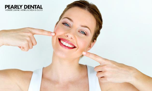 Zahnaufhellung Behandlung