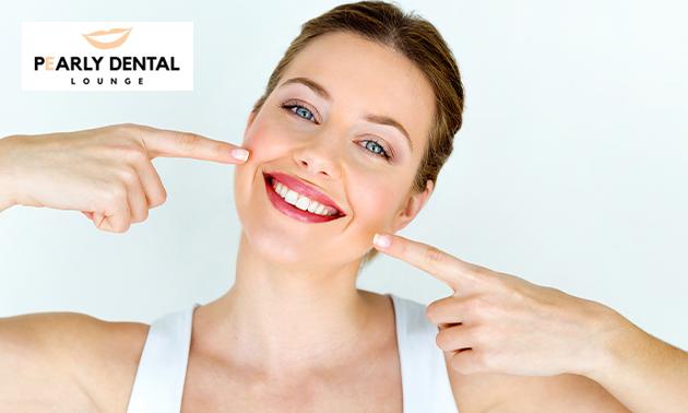 Zahnaufhellungs-Behandlung
