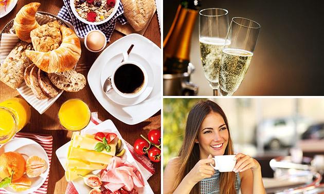 Frühstück für 2 + Kaffee + Prosecco