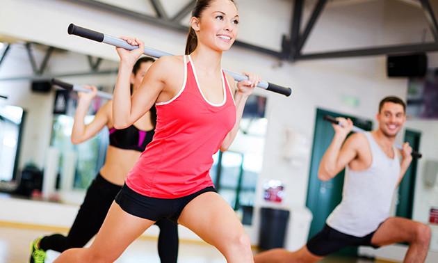 10-rittenkaart voor fitness en groepslessen