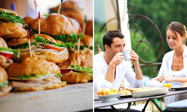 Luxus-Frühstück für 2 oder 3 Personen
