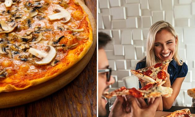 2 Pizzen nach Wahl (31 Wahlmöglichkeiten)