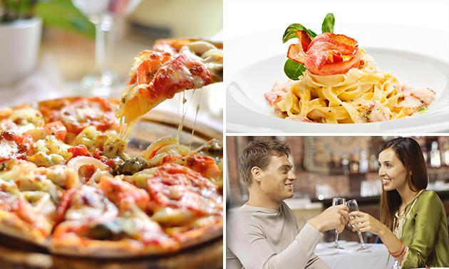 2-gangendiner (50+ keuzes) bij Pizzeria Da Vinci