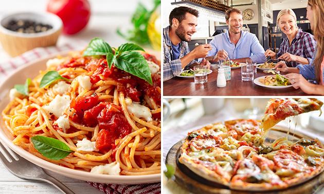 Pizzeria Donna Rosa, Italienisches 4-Gänge-Menü nach Wahl ...