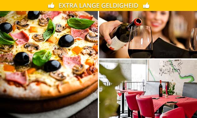 Afhalen: pizza naar keuze + drankje bij Stromboli
