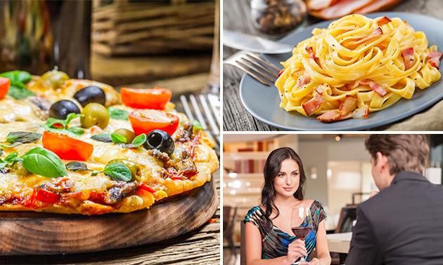 3-gangendiner (56 keuzes) bij Pizzeria Picasso