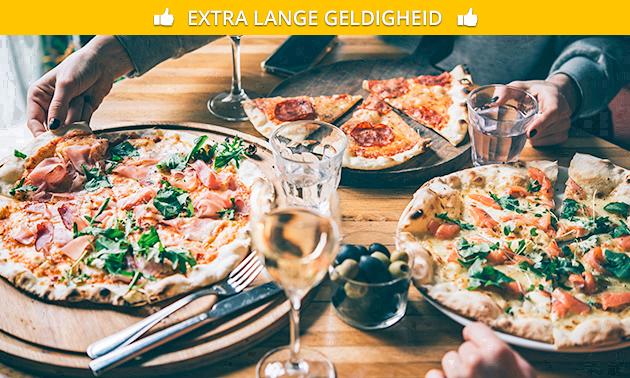 Afhalen: pizza naar keuze bij Pizzeria Roma