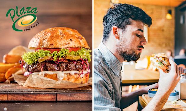 Dine-in of afhalen: hamburgermenu in hartje Roosendaal