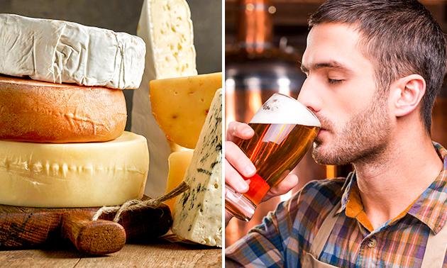 Afhalen/thuisbezorgd: speciaalbier- en kaaspakket