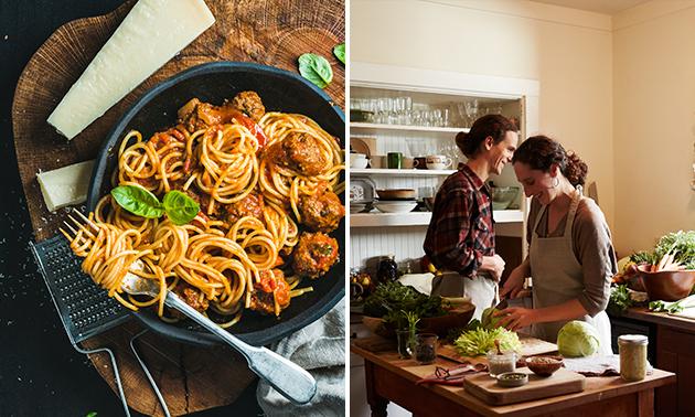Afhalen: Italiaanse maaltijdbox(en) voor 2
