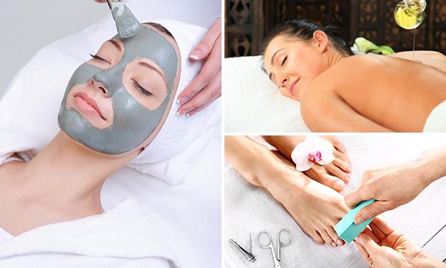Rug-, spa-pedicure- of gezichtsbehandeling