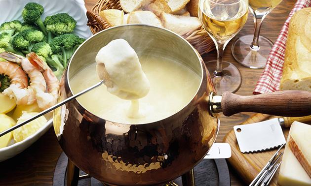 3-Gänge-Fondue-Menü