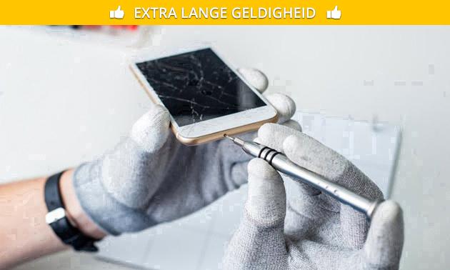 Batterij vervangen of schermreparatie iPhone