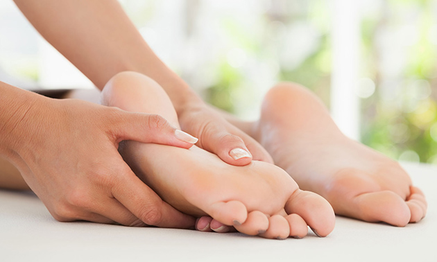 1 of 3 voetreflexzonetherapieën (60 min)