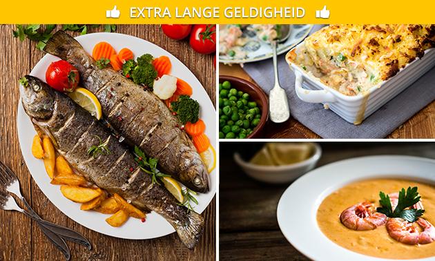 Afhalen: vispakket voor 2 personen