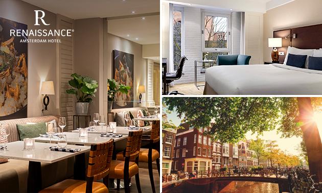 5-Sterne-Übernachtung(en) für 2 + Frühstück im Herzen von Amsterdam
