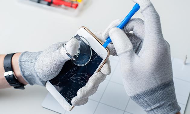 Bildschirm- oder Akkureparatur für Dein iPhone