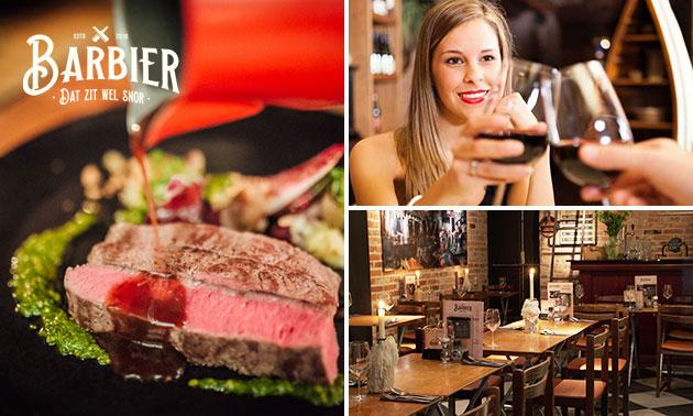 3-gangen keuzediner bij Restaurant Barbier Breda