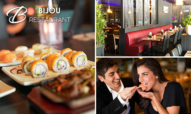 All-You-Can-Eat sushi en grill (3 uur) bij BIJOU