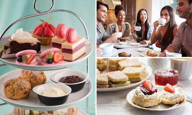 High tea bij Restaurant Café De Eetkamer