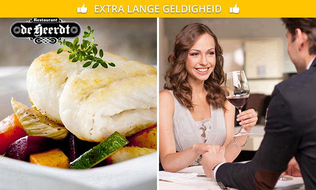 3-gangen keuzediner bij Restaurant de Heerdt