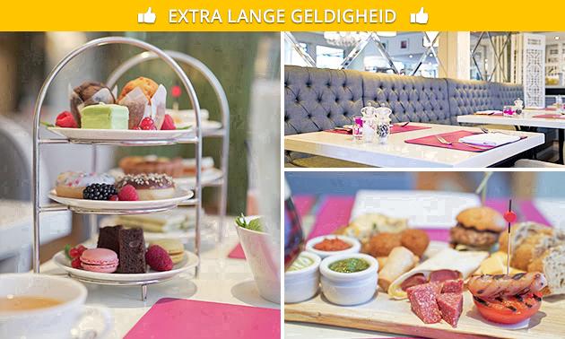 High tea bij Restaurant de Mangerie