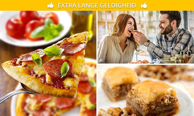 Afhalen: pizza naar keuze + drankje