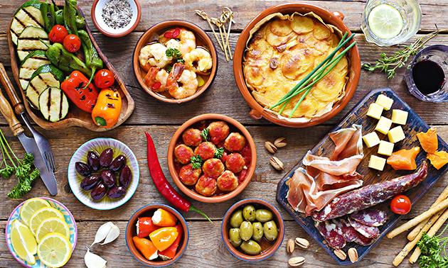 All-You-Can-Eat tapas (2 uur) bij Restaurant Granada