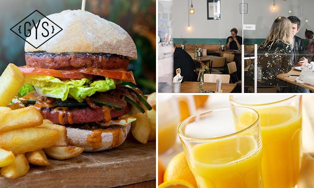 Afhalen: vegan burger + drankje