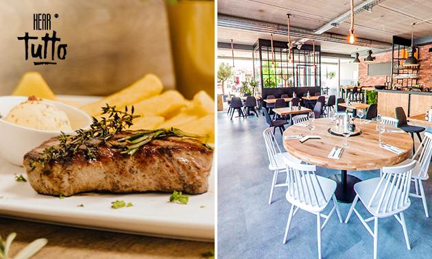 3-Gänge-Luxusmenü bei Restaurant Herr Tutto