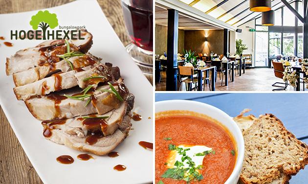 Afhalen: 2-gangen keuzediner bij Restaurant Hoge Hexel