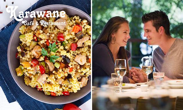 3-Gänge-Menü bei Restaurant Karawane