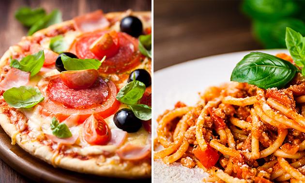 Afhalen: pizza/pasta + tiramisu bij Restaurant La Vita