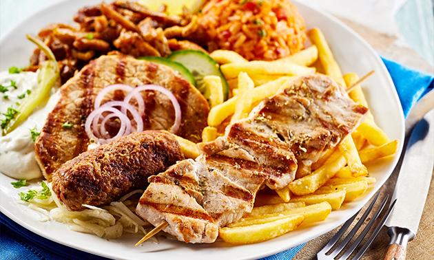 Afhalen: Grieks 2-gangendiner bij Restaurant Mino