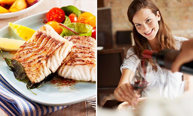 4-Gänge-Menü im Restaurant Picasso