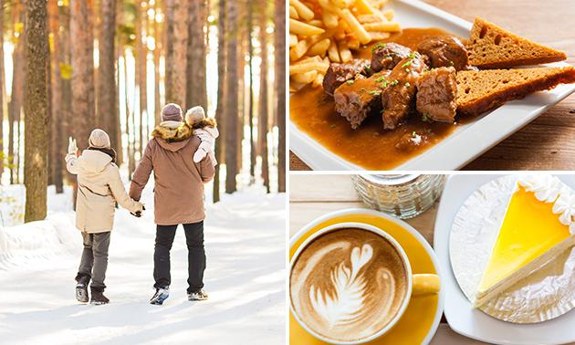 Wanderarrangement + Kaffee und Kuchen + 2-Gänge-Menü