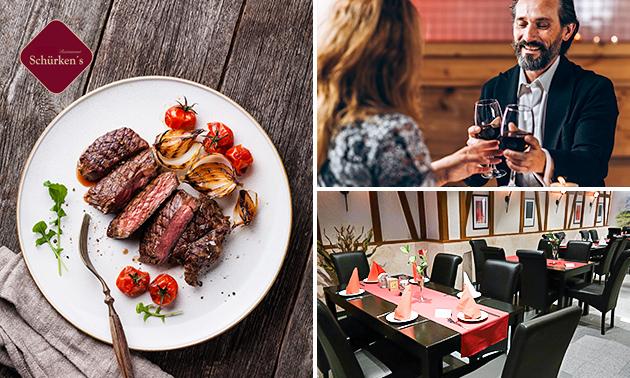 3-Gänge-Menü à la carte im Restaurant Schürkens