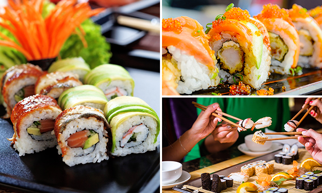 All-You-Can-Eat sushi bij Shoga