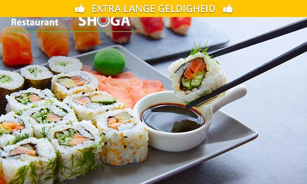 Afhalen: sushibox voor 2 personen (32 stuks) bij Shoga