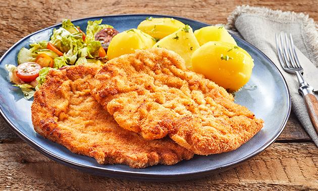 2-Gänge-Schnitzel-Menü im Restaurant Soers