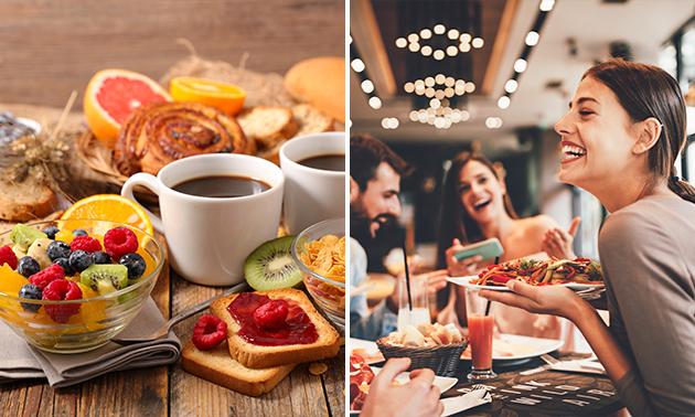 Sonntags-Frühstücksbuffet für 2 Personen