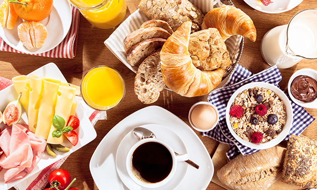 Ontbijt + drankjes bij Swing in hartje Delft