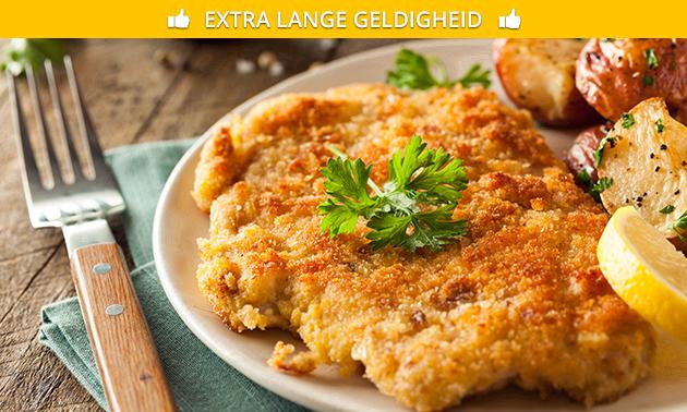 3-Gänge-Schnitzel-Menü im Restaurant Torschänke