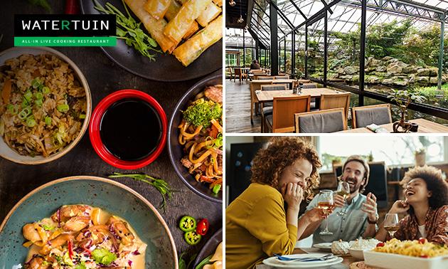 Afhalen: Chinees diner voor 3-4 pers. bij Restaurant Watertuin