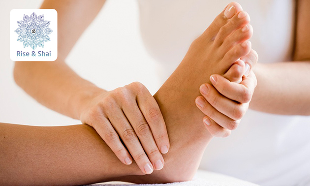 1, 2 of 3 voetreflexmassages (à 60 min)