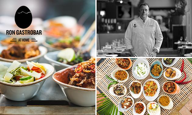 Afhalen: Indonesische rijsttafel van Ron Gastrobar