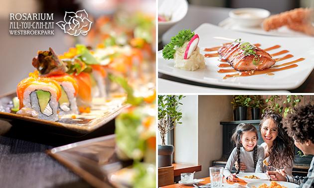 All-You-Can-Eat (3 uur) bij Rosarium Westbroekpark