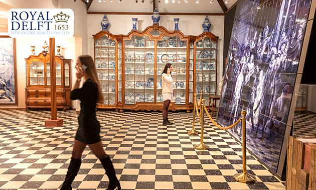 Entree Royal Delft Museum + audiotour